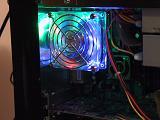 Tri-LED Fan in Side Panel