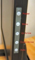 The LM-1730's Adjustment Buttons