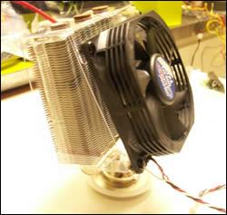 Assembled cooler