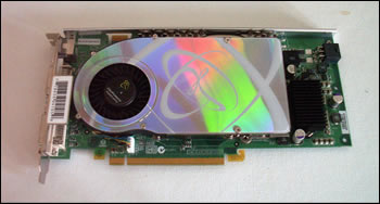 The XFX GeForce 7800GTX
