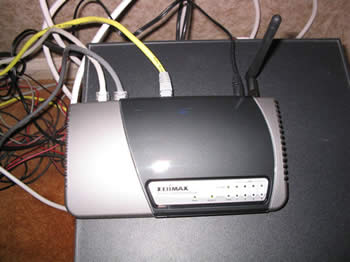 The installed Router