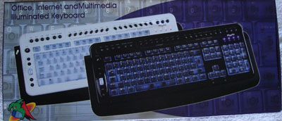 Logisys Illuminated Keyboard