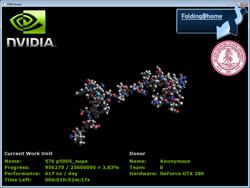Nvidia & Folding@Home