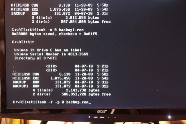 Flashing Your Video Card's (GPU) BIOS - Bjorn3D com