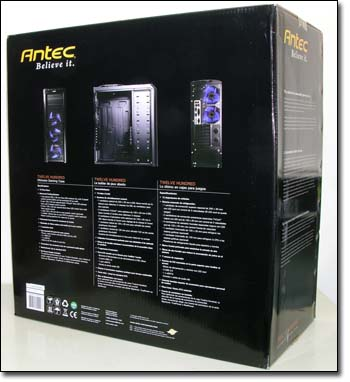 Antec Twelve Hundred Box rear
