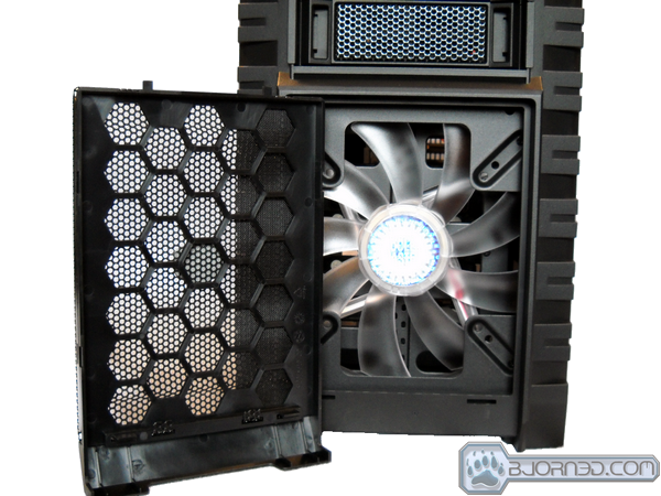 Front Case with Fan Exposed