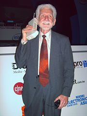 Dr. Martin Cooper, the inventor of the cell phone.