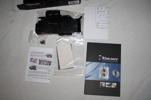 Koolance HD4870X2 Full Water Block - Bjorn3D com