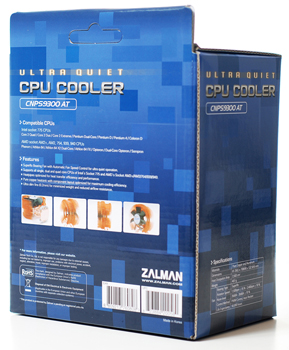 Zalman CNPS-9300 Box Rear