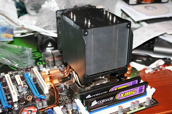 Installed cooler