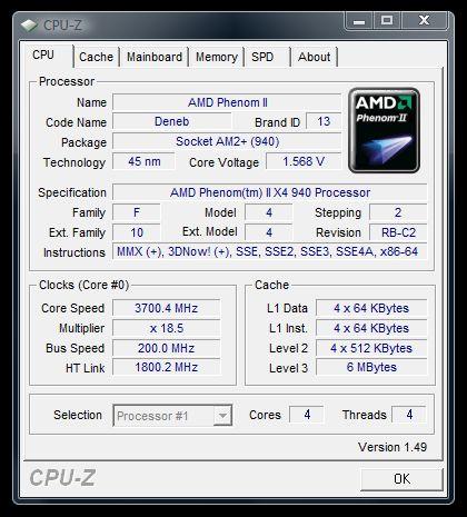 AMD Dragon: AMD Phenom II X4 940 - Bjorn3D com