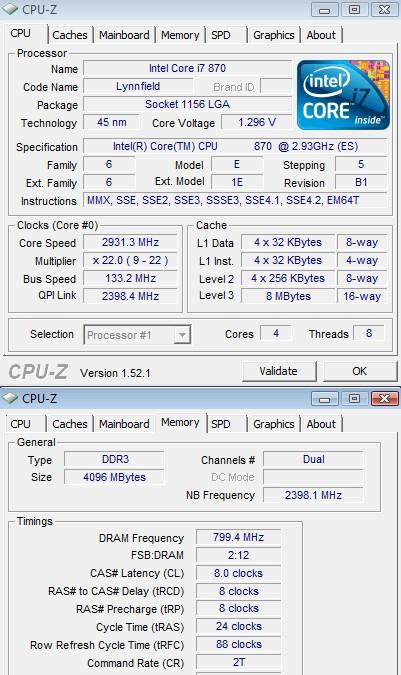 Corsair Dominator DDR3 1600 (CDM4GX3M2A1600C8) - Bjorn3D com