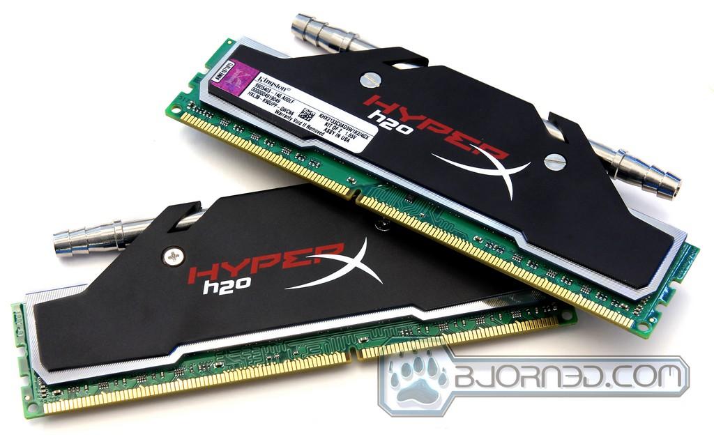 Kingston H2O 2133MHz 4GB Dual Channel Memory Kit
