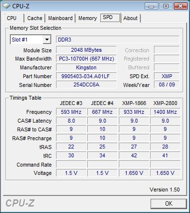 Kingston HyperX T1 1866 (KHX14900D3T1K3/6GX) - Bjorn3D com