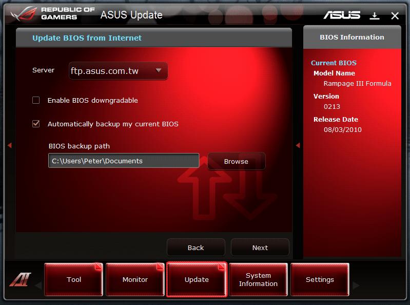 Asus Rampage III Formula Bios 0402 Treiber Windows 7
