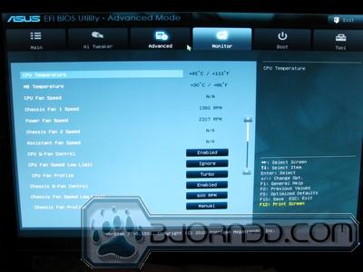 ASUS P67 Sabertooth - Bjorn3D com