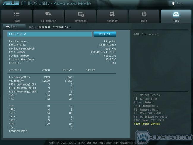 ASUS F1A75-V EVO - Bjorn3D com