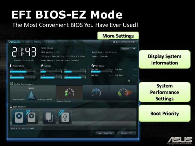 ASUS P67 Motherboards: P8P67 Deluxe and P8P67 Pro - Bjorn3D com