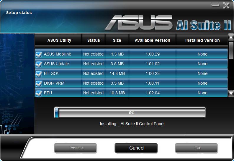 ASUS P8P67 PRO PC DIAGNOSTICS DRIVER