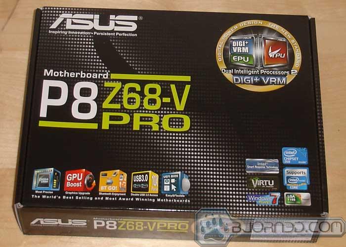 ASUS P8Z68-V Pro - Bjorn3D com