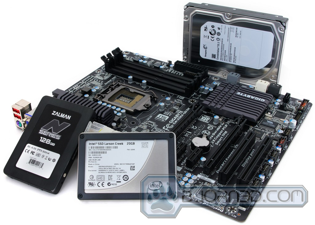 Gigabyte GA-Z68X-UD3H-B3 3TB+ Descargar Controlador