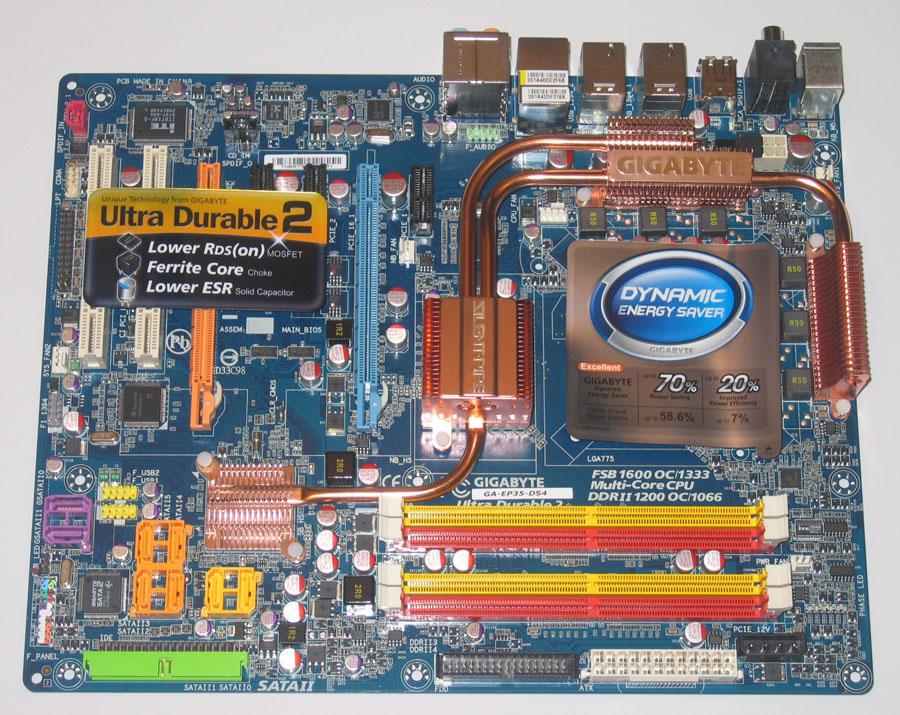 Gigabyte GA-EP35-DS4 SATA2 RAID Drivers for Windows Download