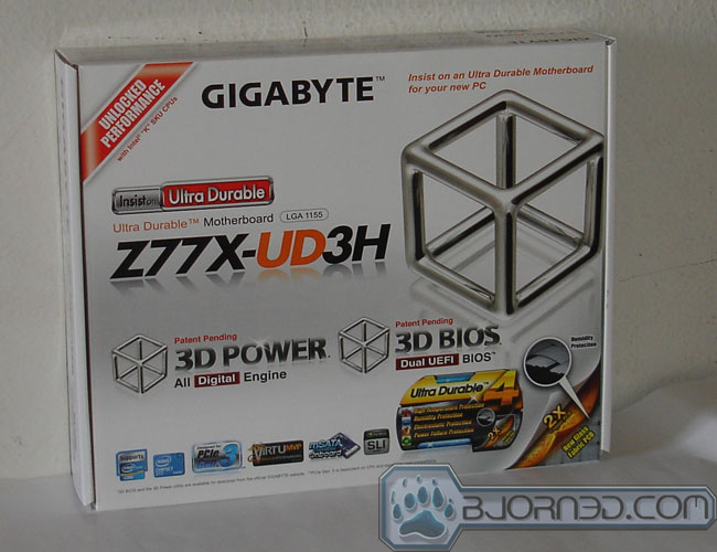 GIGABYTE Z77X-UD3H - Bjorn3D com
