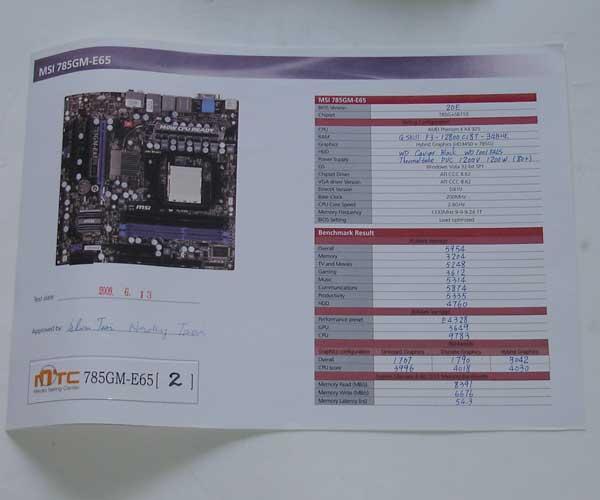 MSI 785GM-E65 - Bjorn3D com