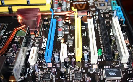 PCI-E slots