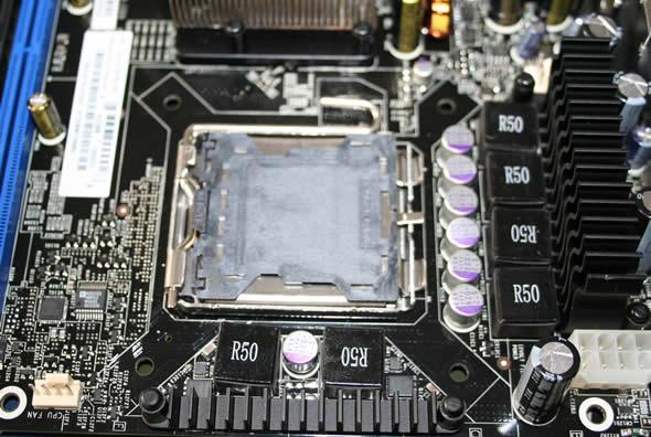 CPU area