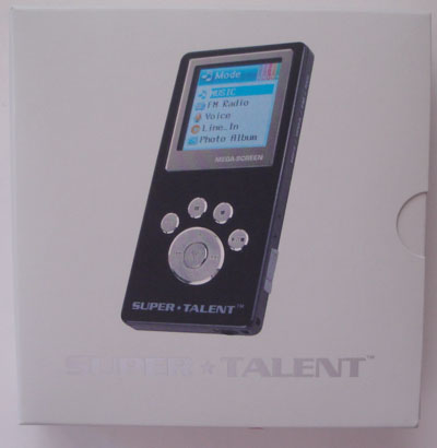 Super Talent Mega Screen MP3 Player