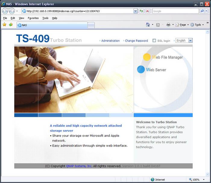 QNAP TS-409 Pro