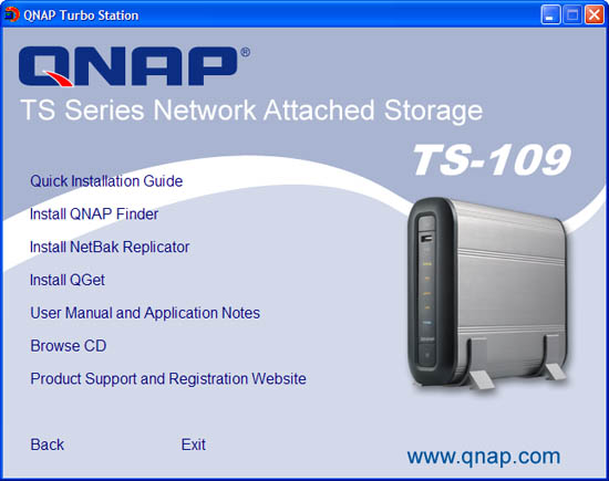 QNAP TS-109 Pro - Bjorn3D com