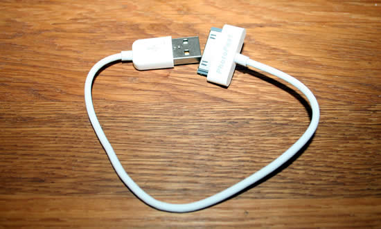 The sync cable
