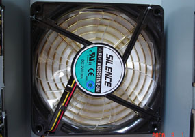 13.5cm Fan Internal View