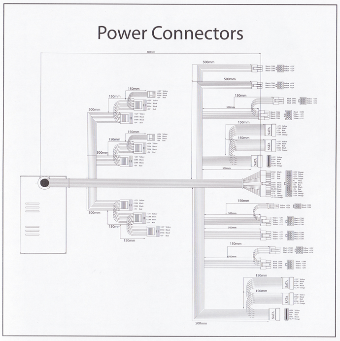 SilverPower_SP-S850_power_connectors_diagram
