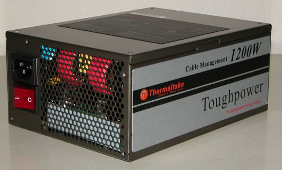 Thermaltake Toughpower W0133RU 1200W PSU 3/4 view
