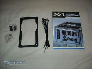 Ultra X4 500 watt PSU - Bjorn3D com