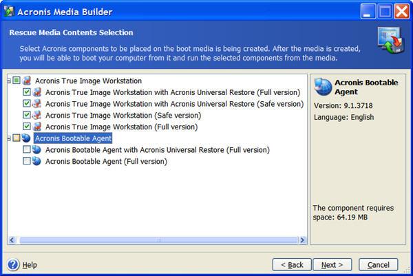 Acronis True Image Workstation Version 9 1 - Bjorn3D com