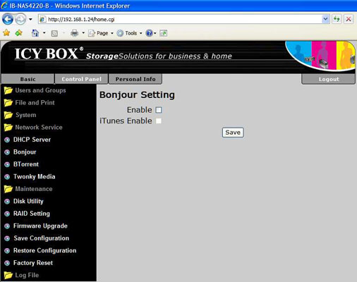 Tagan Icy Box IB-NAS4220-B - Bjorn3D com