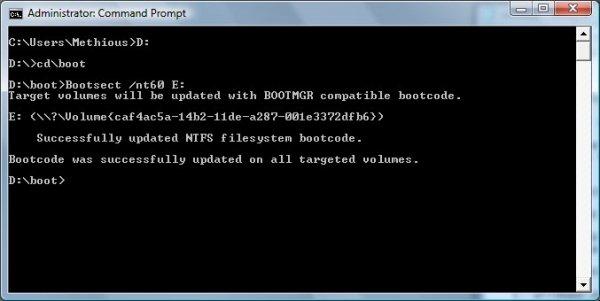 how to create ntsf thumb drive