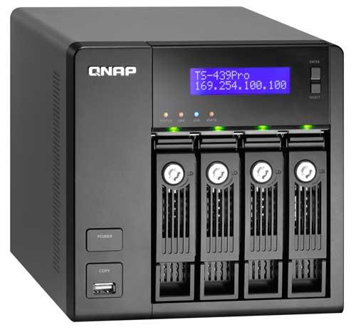 QNAP TS-439 Pro - Bjorn3D com