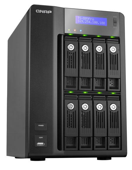 QNAP TS-809 Pro - Bjorn3D com