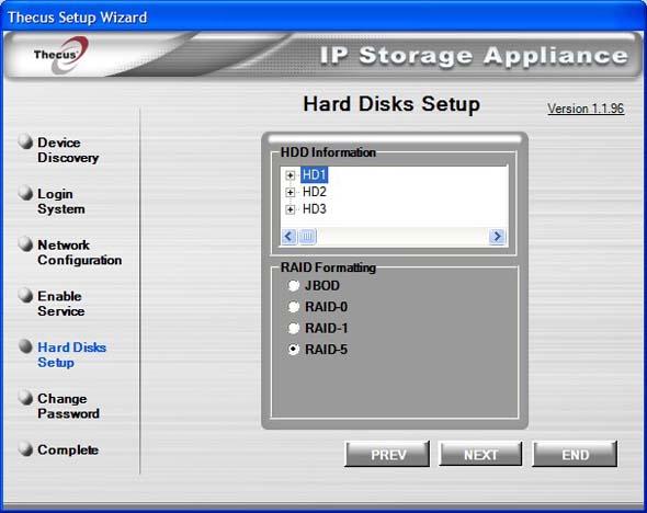 Thecus_N3200_HD_Setup