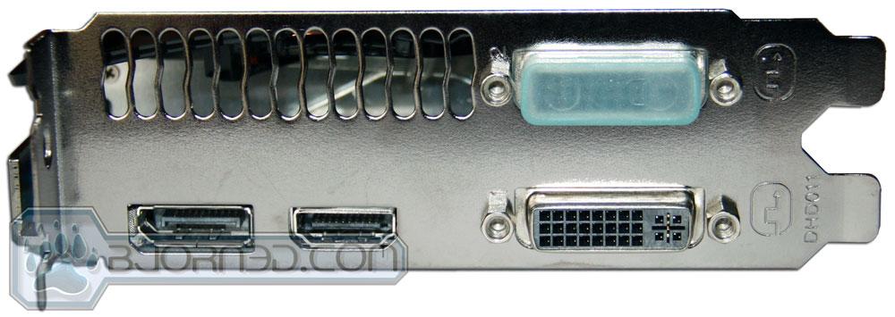 GIGABYTE GTX 670 OC Ports