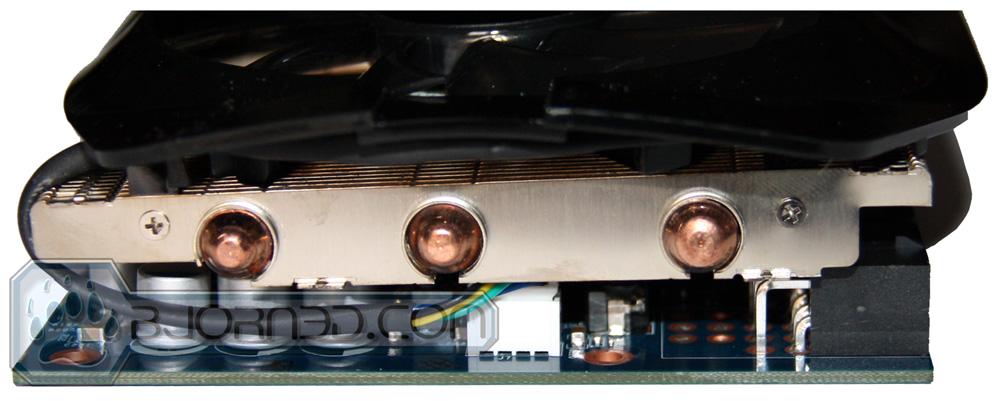 GIGABYTE GTX 670 OC Cooler Heatpipes