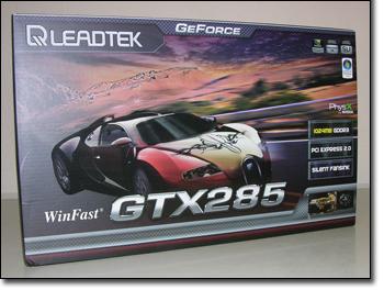 LeadTek WnFast GTX285 box front