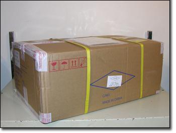 LeadTek WnFast GTX285 cardboard box