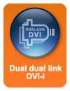 Dual Dual Link DVI-I