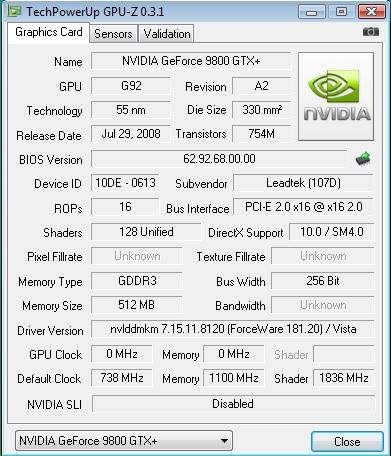 For Some Odd Reason GPU Z Isnt Detecting This Card Right It Doesnt Show What The Fillrate Or Bandwidth Is But Still Be Same As Its Reference